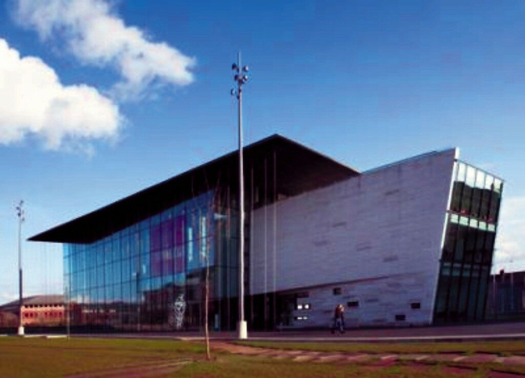 MIMA - contemporary art museum £40 million flagship of Middlesborough's urban regeneration programme