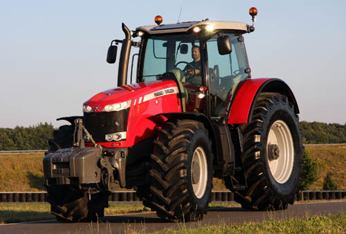 Farm tractors sales also attract as much marketing interest design-wise as do urban motor car enthusiasts