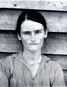 Walker Evans: 'Allie Mae Burroughs', FSA project