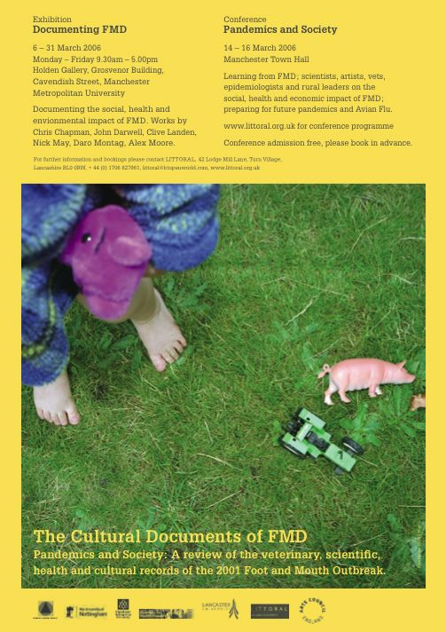 'Cultural Documents of FMD' poster