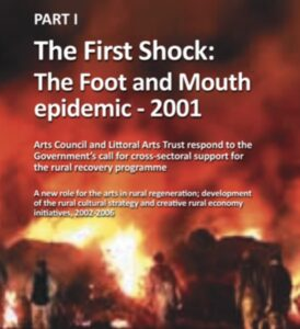 Cover; The First Shock - The Foot And Mouth epidemic - 2001